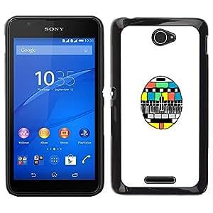 Dragon Case - FOR Sony Xperia E4 - ho truly knows you - Caja protectora de pl??stico duro de la cubierta Dise?¡Ào Slim Fit