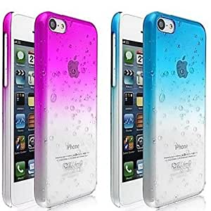 Buy A specially designed water type transparent hard for iPhone 5 c , Rose