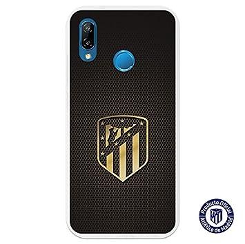 Atlético de Madrid Carcasa Oficial Escudo Oro Huawei P20 Lite