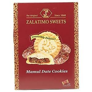 Zalatimo Mamul Date Cookies Tray - 30 gm, Pack of 18