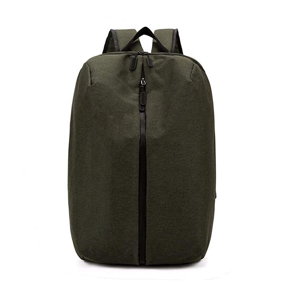 Armygreen One Size DHFUD Backpack Men's Simple Fashion Breathable Waterproof Multifunctional