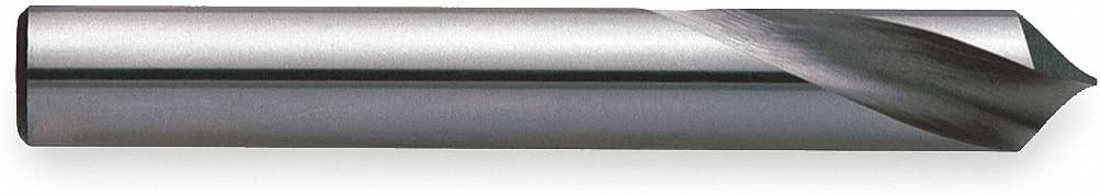 Uncoated Spotting Drill Bit Bright 142/° Carbide 3//4