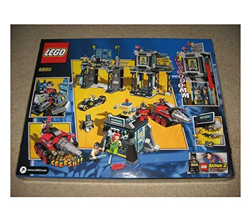 LEGO-Batman-6860-The-Batcave-DC-Universe-Super-Heroes-Bruce-Wayne-NEW-SEALED