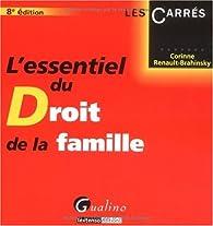 L'essentiel du droit de la famille - 2020 par Corinne Renault-Brahinsky