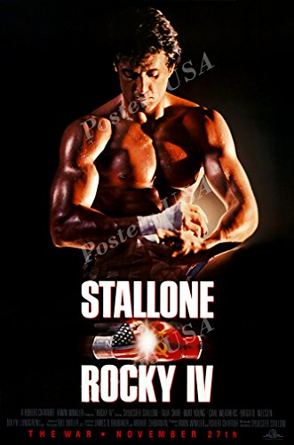 Posters USA - Rocky IV 4 Movie Poster GLOSSY FINISH- MOV022