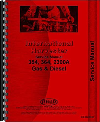 International Harvester Service Manual (IH-S-354,2300A) by Jensales