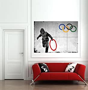 Amazon.com: THUG STEAL OLYMPIC RING BY PURE EVIL BANKSY