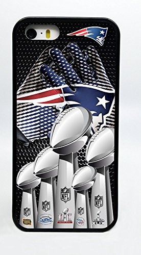 New England Patriots Super Bowl Gloves Trophies Phone Case Cover - Select Model (iPhone 7 PLUS) (Trophy Phone Case)