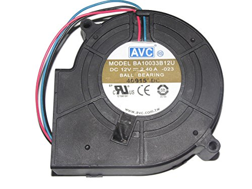 3wire 12v blower fan - 8