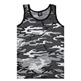 Fox Outdoor Products Tank Top, Urban Camo, X-Large