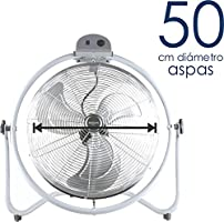 Bastilipo Mónsul Ventilador Industrial de Suelo, 140 W, Metalizado ...