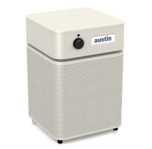 Austin Air Healthmate Plus Junior Air Purifier Machine (A250)- Sandstone; Made in the USA