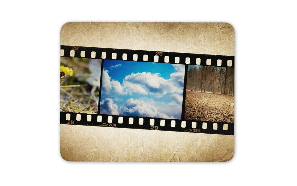 cb48340e0ed Amazon.com : Celluloid 35mm Film Photographs Negative Mouse Mat Pad -  Computer Gift HB6095 : Office Products