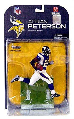 Adrian Peterson #28 Minnesota Vikings Black Wrist Tape Chase Alternate Variant McFarlane NFL Series 18 Wave 2 Action Figure