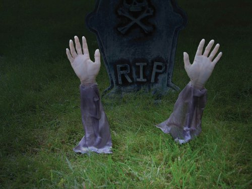 Zombie Arm Lawn Stakes]()
