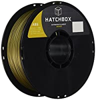 HATCHBOX 3D ABS-1KG1.75-BRNZ ABS 3D Printer Filament, Dimensional Accuracy +/- 0.05 mm, 1 kg Spool, 1.75 mm, Bronze by HATCHBOX
