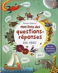 Mon livre des questions-réponses - Livre à rabats