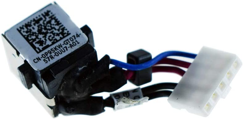 Rangale Replacement DC_in Power Jack in Cable Harness for Dell Latitude E5450 Series Laptop ZAM70 CHA01 DC30100QD00 ZAM70 P95KW 0P95KW