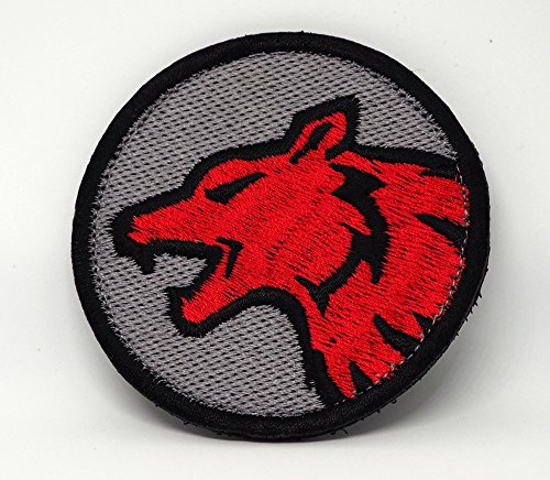 Marin Wolf (Wolf Head Morale Patch Tactical Patch / 2.75