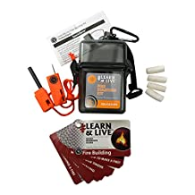Ultimate Survival Technologies Learn & Live Fire Starting Kit