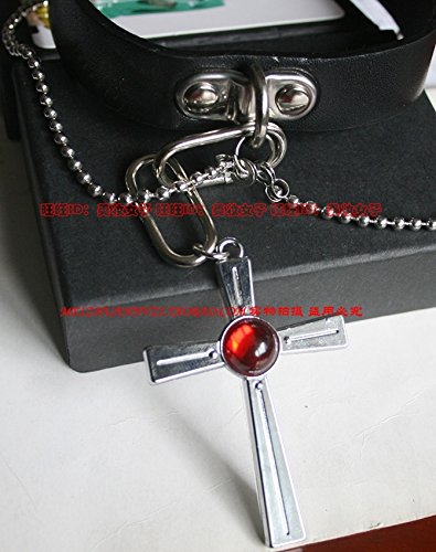 Vampire Knight red night awakening Mengxiang necklace pendant cross necklace usongs Rosario