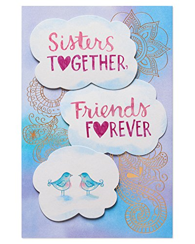 American Greetings Sisters Together Mother's Day Greeting Card with Foil