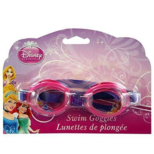 (MBZ Disney Jr. Princess Big Time Splash Classic Swim Goggles! Water Tight! Perfect for Summer Water)