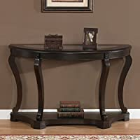 Geurts Elegant Wood Sofa Table Espresso