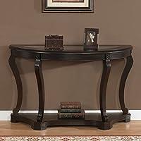 Geurts Elegant Wood Sofa Table Espresso