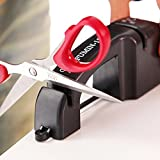 B&Y Manual Knife Sharpener with 2 Stage Coarse And Fine Sharpening System