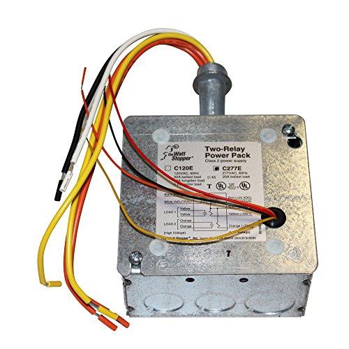 Wattstopper C277-E Two-Relay Power Pack Class 2 Power Supply Occupancy Sensor 277VAC 60Hz Review