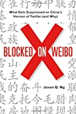 Blocked on Weibo, Jason Q. Ng, 159558871X