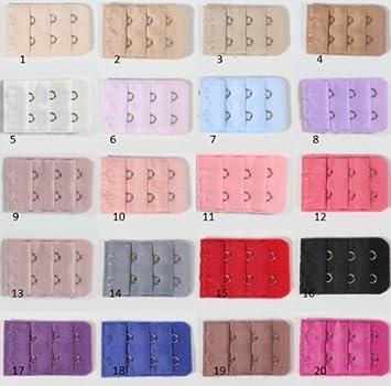 7633c35d466be 1 Rallonge Extension pour Soutien Gorge - 2 crochets - coloris 5
