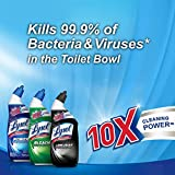 Lysol Power Toilet Bowl Cleaner, 48oz (2X24oz), 10X Cleaning Power