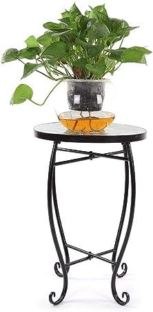 lyrlody Table d\'appoint Mosaïque Table de Vase Tabouret à ...