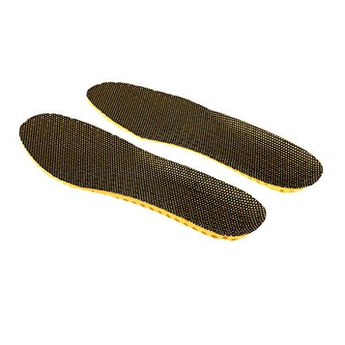 MagiDeal 1par Plantillas de EVA Absorción de Choque Sudor Inserción de Zapatos de Deportes Accesorio de Cuidado de Pies