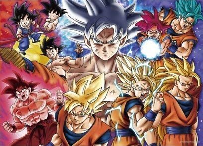 ensky 500 Pieces Jigsaw Puzzle Dragon Ball Super Son Goku Ultimate Warrior! Evolutionary Orbit! (38×53cm) (Japan Import) (Official Product) Dragon Ball Z Puzzle