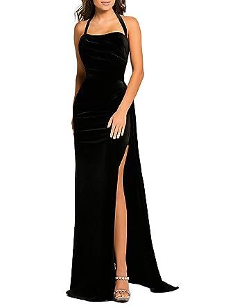 49749cd424 Azokoe Womens Elegant Off Shoulder Velvet Ruched Party Bodycon Midi Dress  at Amazon Women s Clothing store