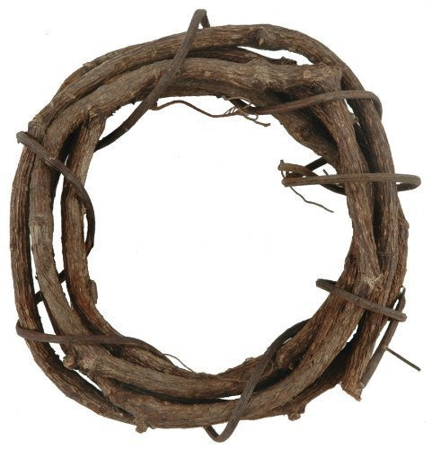 Darice Grapevine Wreaths, 3-Inch, Pack of 12 GPV3
