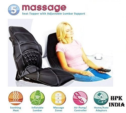 Numex 5 Motor Massage Seat Cushion For Car / Home Personn...