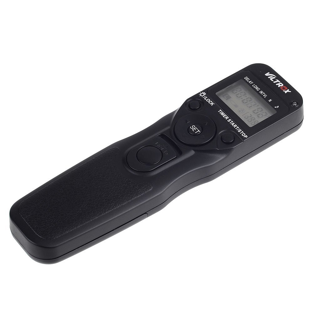 VILTROX Time Lapse Intervalometer Timer Remote Control Shutter with C3 Cable for Canon 1D Series 5D 5DII 5DIII 7D 10D 20D D30 40D 50D