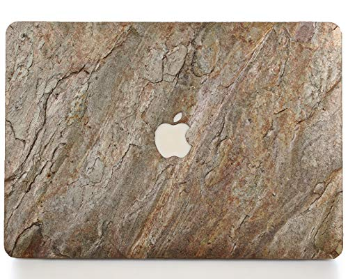 - WOODWE Real Stone MacBook Skin for Mac Pro 13 inch with/Without Touch Bar | Model: A1706/A1708/A1989; Late 2016 - Mid 2018 | Natural Burning Forest Stone | TOP&Bottom