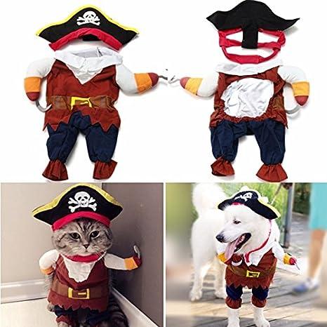 Doggie estilo tienda pirata perro de mascota Cachorro gato disfraz ...