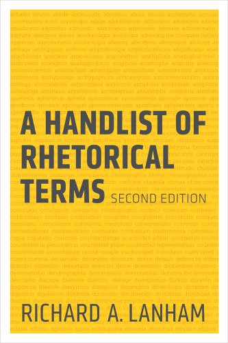 Handlist Of Rhetorical Terms