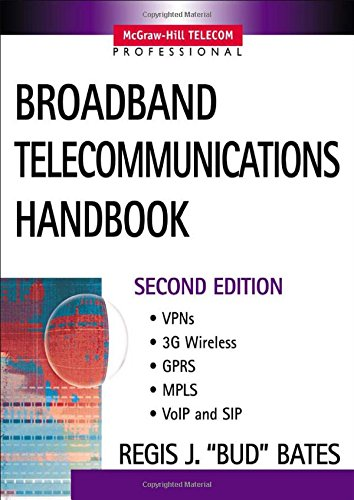 Broadband Telecommunications Handbook