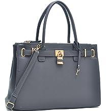 MyLux® Fashion Designer High Quality Handbag 0326 GREY