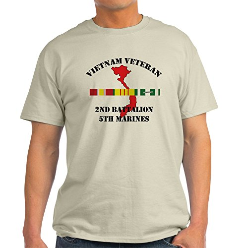 CafePress 2Nd Battalion 5Th Marines T-Shirt - 100% Cotton T-Shirt 2nd Battalion 5th Marines