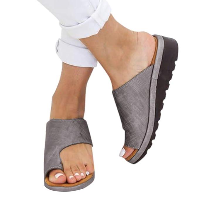 498ac085cffe0 Summer Shoe Gibobby Women's 2019 New Women Comfy Platform Sandal Shoes  Summer Beach Travel Shoes Fashion Sandal Ladies Shoes