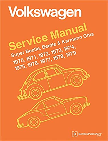 volkswagen service manual super beetle beetle karmann ghia 1970 rh amazon com bentley vw manual pdf bentley manual vw download