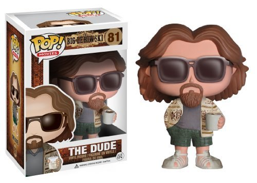Funko POP Movies The Big Lebowski The Dude Vinyl Figure, Model: 3387, Toys & Gaems